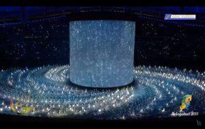 ashgabat olympics opening ceremony dance with lights