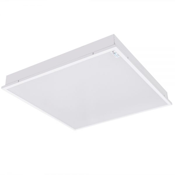 body of standard 60/60 office light for recessed mounting